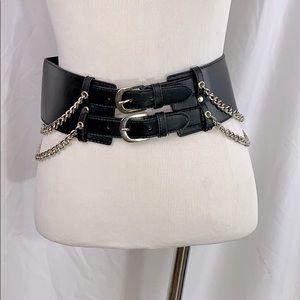 Accessories - Gothic chain belt small black